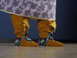 Indigenous Ribbon Shirts and Skirts Program, Sault Ste Marie Indigenous Friendship Centre & Art Gallery of Algoma, Photo Credit: Kevanna Studios, 2020