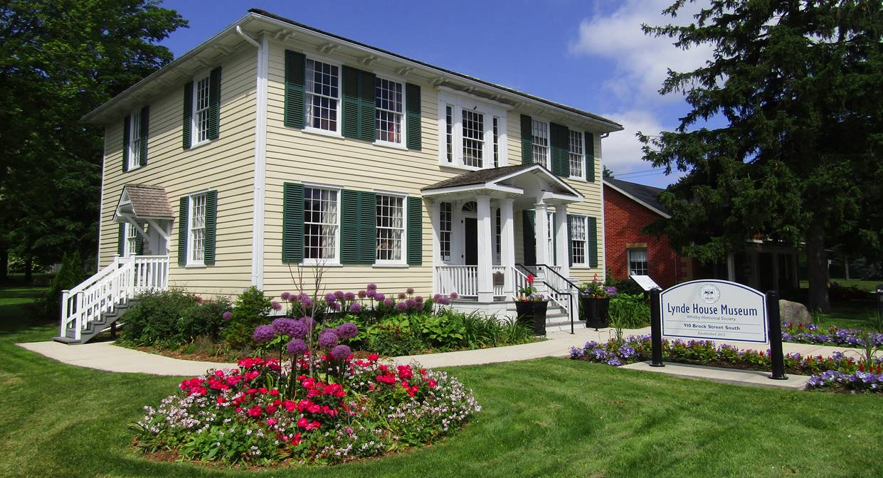 Lynde House Museum, Whitby, Courtesy of the Whitby Historical Society
